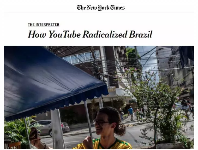 The New York Times: Youtube favoreceu ideias de extrema-direita e ajudou a eleger Bolsonaro